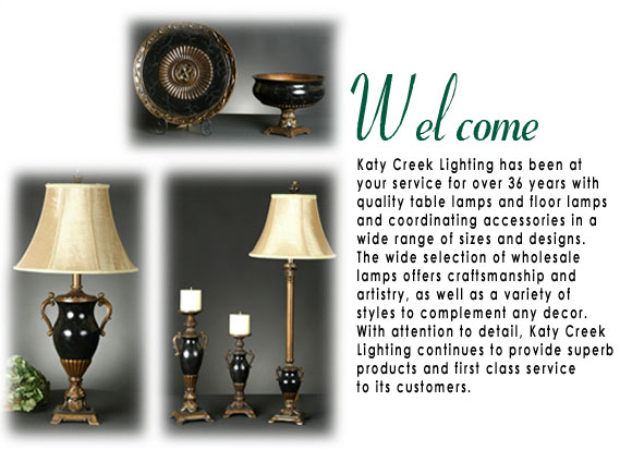 Welcome To Katy Creek Lighting, Lamps Plus Shades And More Wholesale Only